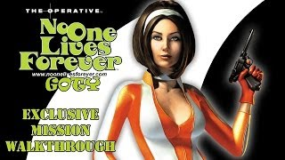 [PC] The Operative: No One Lives Forever GOTY Edition (2001) exclusive mission Walkthrough