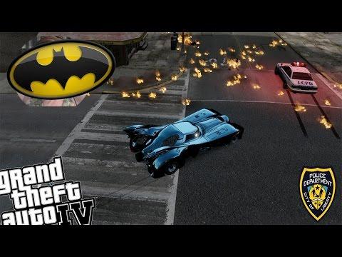 GTA IV LCPDFR Batman Mod Police Patrol - Day 10 - Magicians in Liberty City