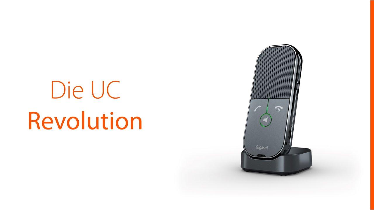 Gigaset ION - Das UC-Mobilteil für den flexiblen Einsatz im Büro, Home-Office und auf Geschäftsreise
