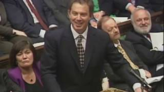 Tonly Blair's first Prime Minister's Questions: 21 May 1997