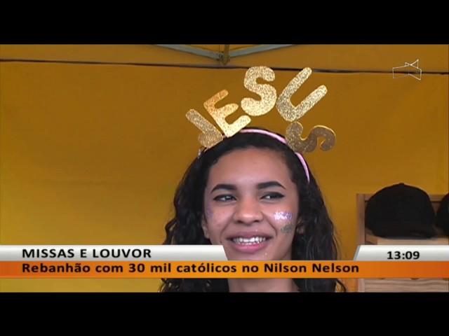 JL - Rebanhão com 30 mil católicos no Nilson Nelson