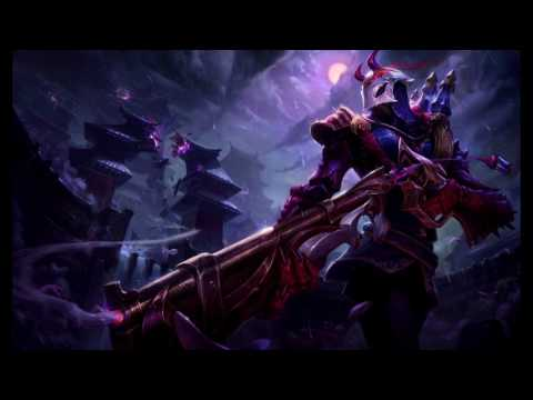 Blood Moon Jhin Music playing during Ultimate