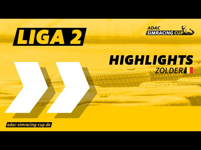ADAC SimRacing Cup Liga 2 - Highlights Rennen 7 & 8 in Zolder
