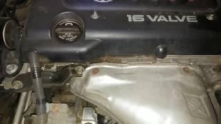 Странный звук двигателя Камри