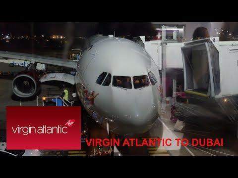 Virgin Atlantic Premium Economy A330 Heathrow to Dubai: REVIEW