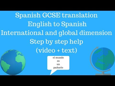 Look after translation in spanish