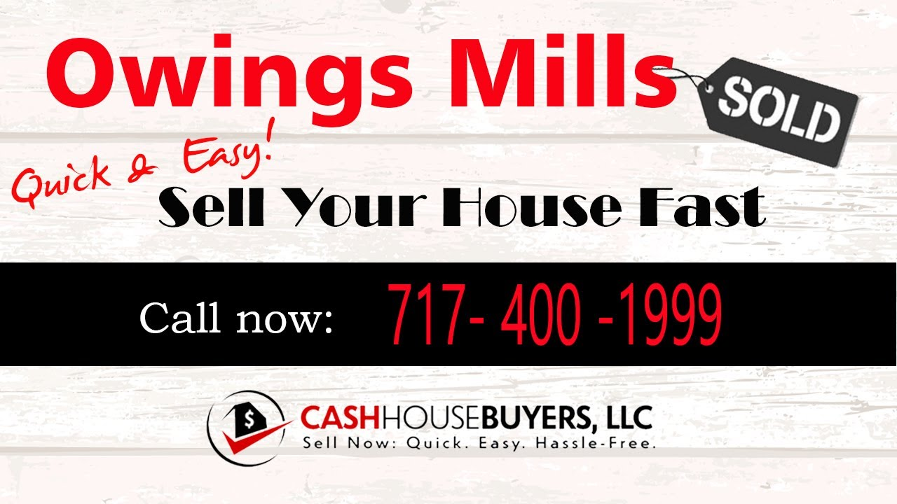 HOW IT WORKS We Buy Houses Owings Mills MD   CALL 717 400 1999   Sell Your House Fast Owings Mills