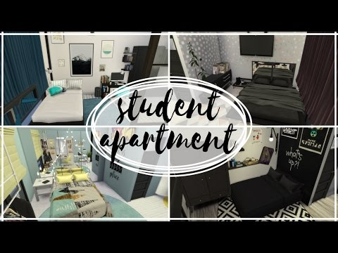 Studencki Apartament - The Sims 4 Speed Build: Apartamenty