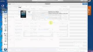 How to restore iPad3 iOS 6 1 2 with iTunes 01