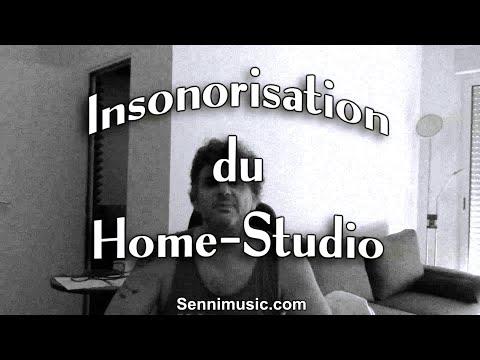 insonorisation home studio mousse acoustique. Black Bedroom Furniture Sets. Home Design Ideas