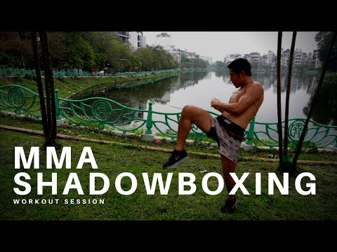 15 Minute KILLER MMA Shadowboxing Workout