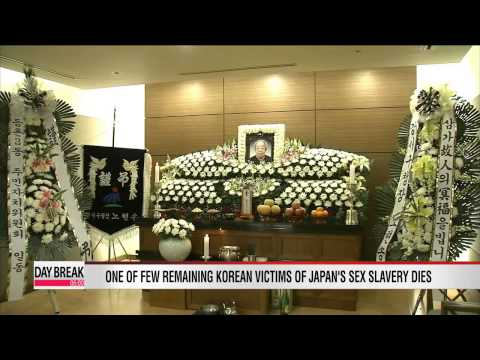 Another Korean victim of Japanese sexual slavery dies; new head of   NHK makes offensive remarks