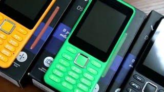 Обзор мобильного телефона Vertex D511 с закаленным стеклом.