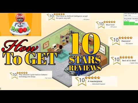 How To Get 10 Stars Reviews Basic Tutorial Guide Maximize Profit | Game Dev Tycoon | Tips & Tricks