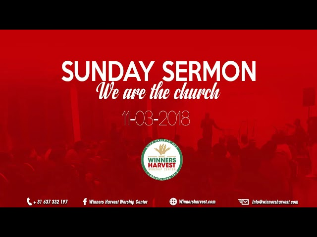 We are the church - 11-03-2018