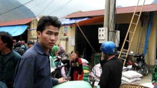 Meo Vac Markets Hmong people North Vietnam
