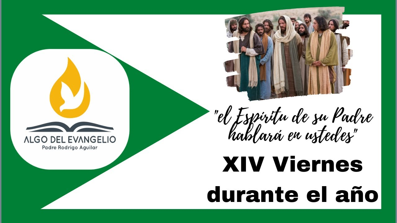 EVANGELIO DE HOY - XIV Viernes durante el año - 10 de julio-Mateo 10, 16-23-Sean astutos y sencillos