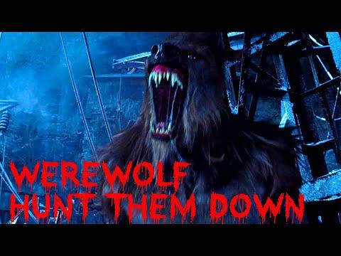 Werewolf hunt them down scene - male transformation - Van Helsing HD