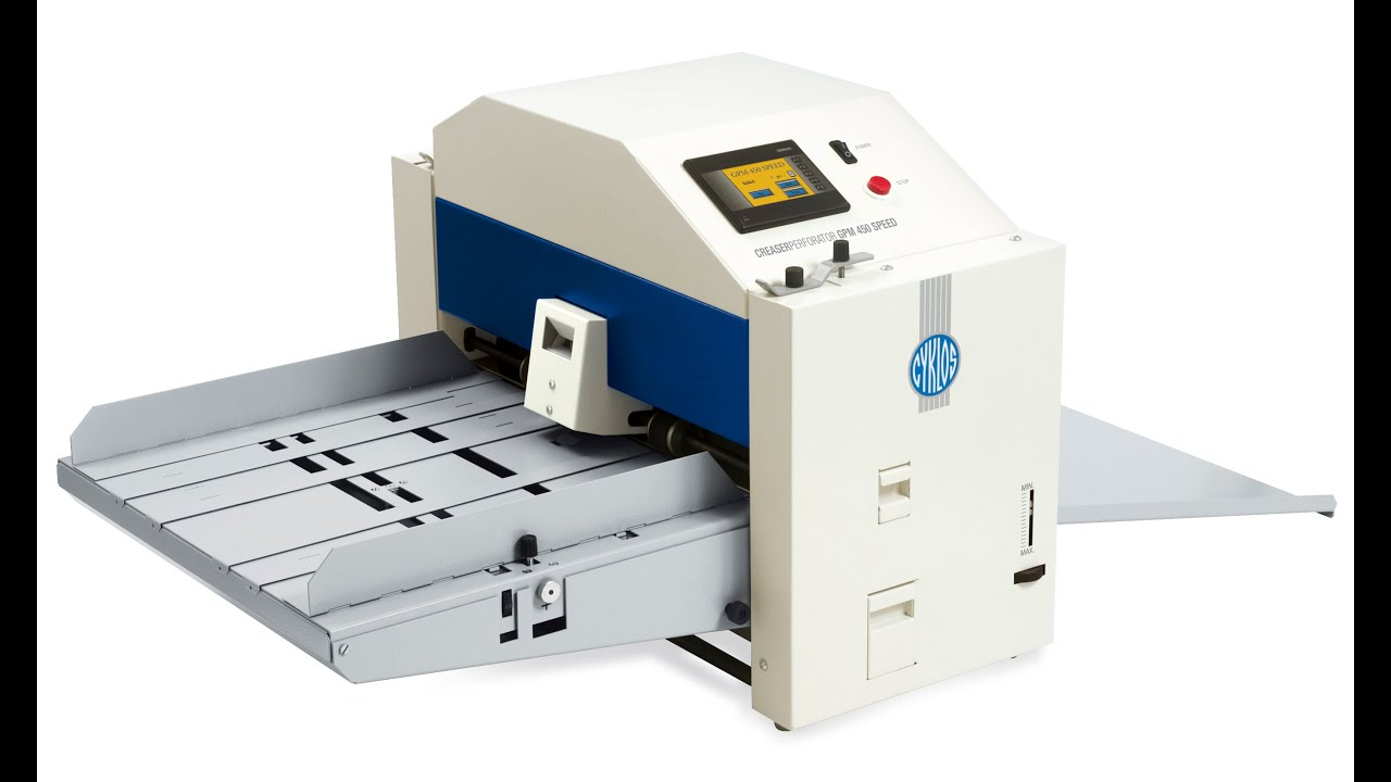 Automatic Creasing And Perforating Machine Gpm 450 Speed