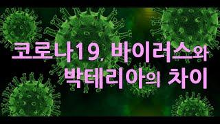 코로나19, 바이러스와 박테리아의 차이. 황세란유인균