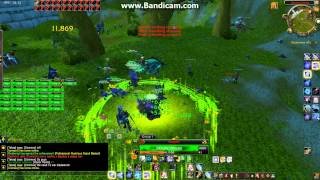 Multiboxing Pandawow  20hunters and 5 Druids  Attack on stormwind