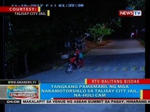 BP: Tangkang pamamaril ng mga nakamotorsiklo sa Talisay City Jail, na-huli cam