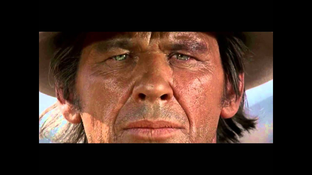 Once Upon A Time In The West Harmonica Man with Harmonica - Once upon