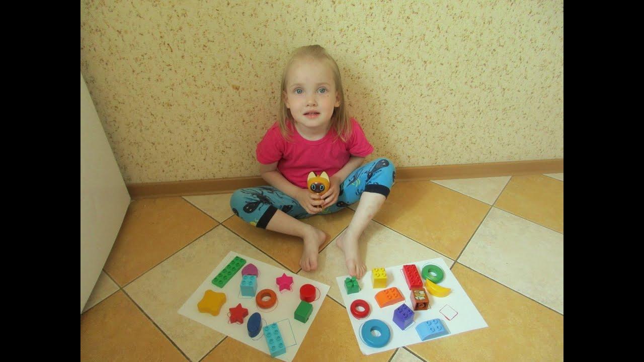 Игры на развитие внимания/Развивающие занятия для детей 2 ...