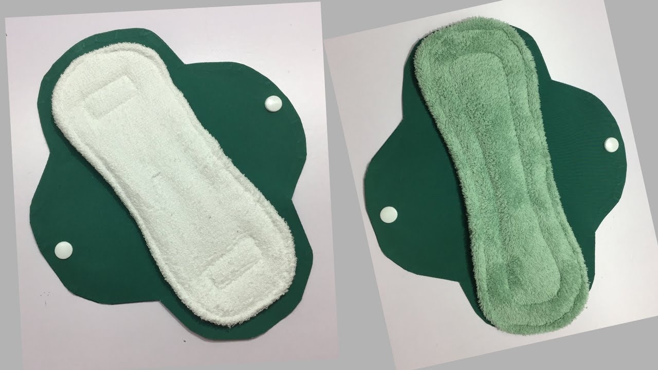 ✳️ Tutorial for Sewing Reusable Sanitary Pads for Girls and Womens