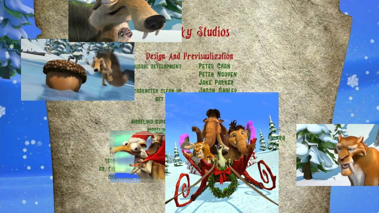 Ice Age A Mammoth Christmas.Ice Age A Mammoth Christmas Deck The Halls