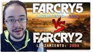 FAR CRY 5 vs FAR CRY 2 ¡¡La REALIDAD de la INDUSTRIA!!