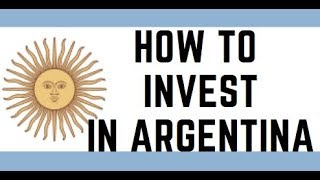 STOCK MARKET IN ARGENTINA IS DOWN