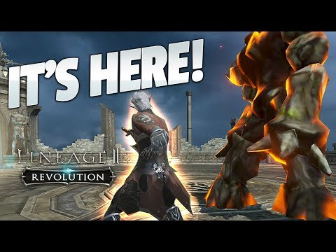 IT'S HERE - Lineage 2: Revolution - We Are Already #1!