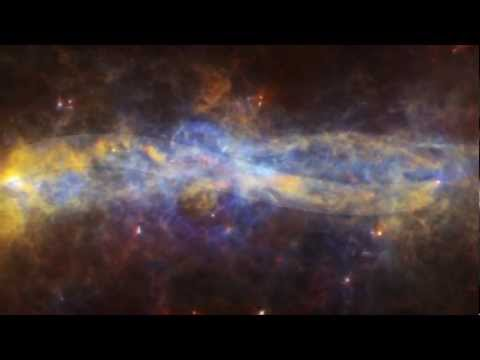 Spitzer + Herschel: The Galactic Center Revisited [720p]