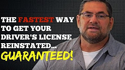 SR22 Insurance - How to Get Your Driver's License Reinstated Quickly