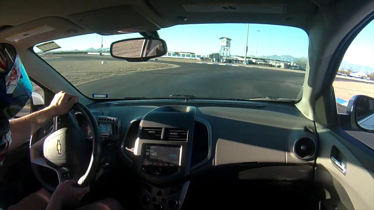 Musselman honda circuit in the rental car with stepanova for Musselman honda tucson