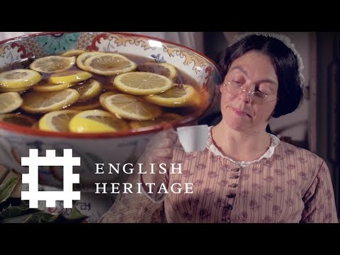 How to Make Christmas Gin Punch - The Victorian Way