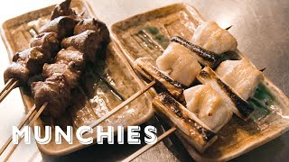 How Binchotan Charcoal Creates Japanese Skewered Perfection - Open Fire