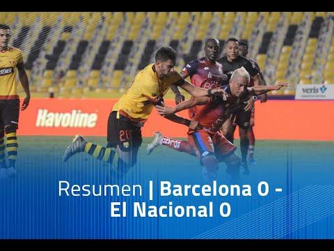 Barcelona SC El Nacional Goals And Highlights