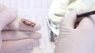 Дизайн ногтей. Вензель. Пошаговая инструкция для начинающих.