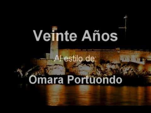 Veinte Años - Omara Portuondo (Karaoke)