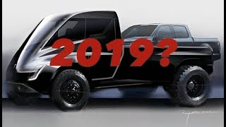 Tesla Pickup Unveil In 2019?