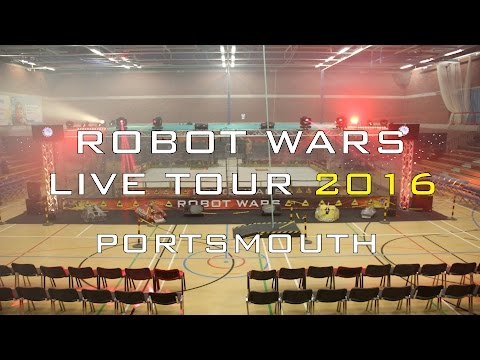 Robot Wars Live Tour 2016 - Portsmouth