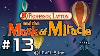 Professor Layton and the Miracle Mask Walkthrough - Part 13: Chapter 3[2/?]