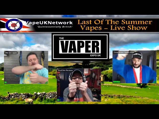 Last of the Summer Vapes - 1/5/2018 - Live vaping and vape related chat, news, reviews and fun