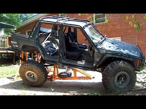 Xj Jeep Cherokee Trailer Build Doovi