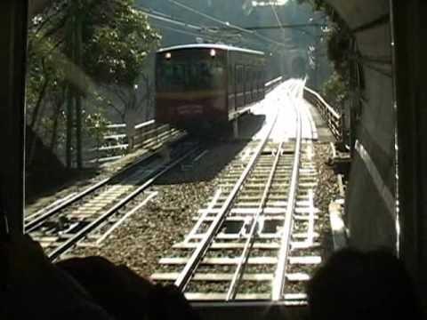 京阪電気鉄道男山ケーブル Otokoyama cable car,Kyoto,Japan