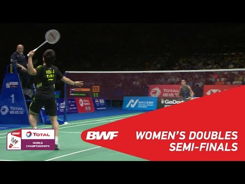 WS | HE Bingjiao (CHN) [6] vs Carolina MARIN (ESP) [7] | BWF 2018