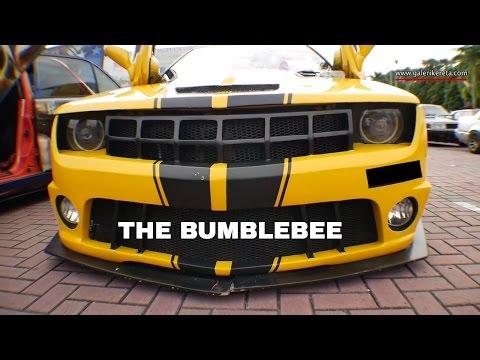 Proton Saga Aeroback Convert to Bumblebee   Auto show Zero Carbon 2016 Econsave Seremban