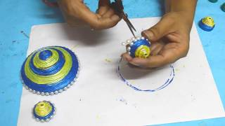 Newspaper Wall Hanging | How To Make Newspaper Wallhanging | Newspaper Craft